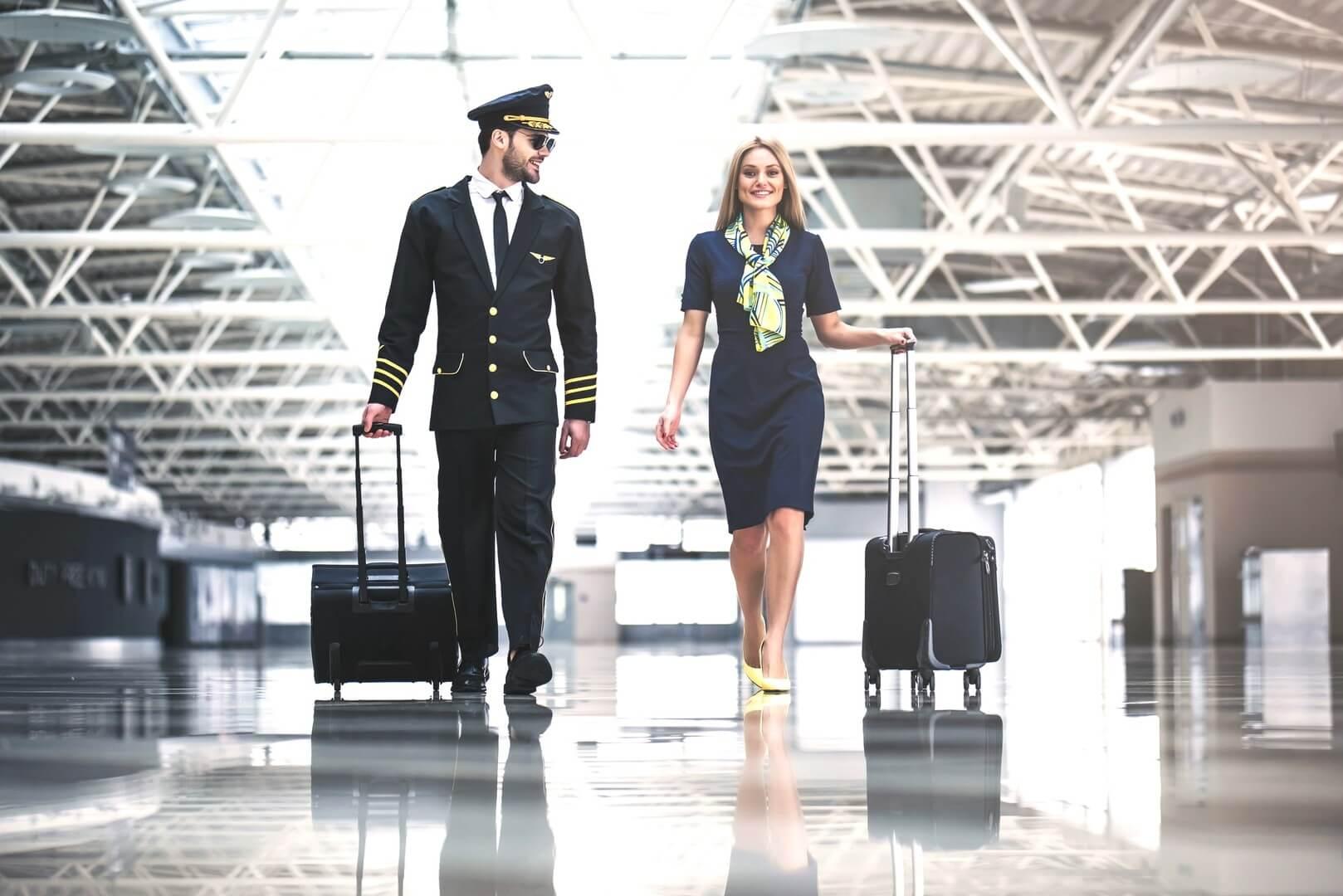 Пілот і стюардеса