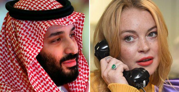 Арабський принц виявився сотим в любовному списку Лохан