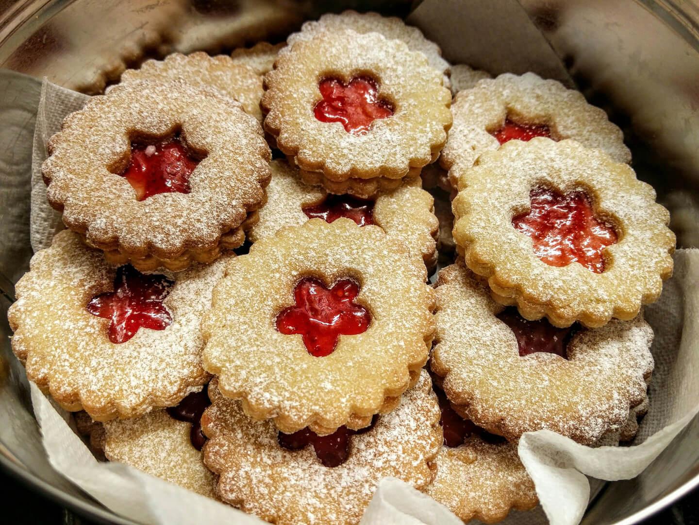 Печиво з томатним джемом