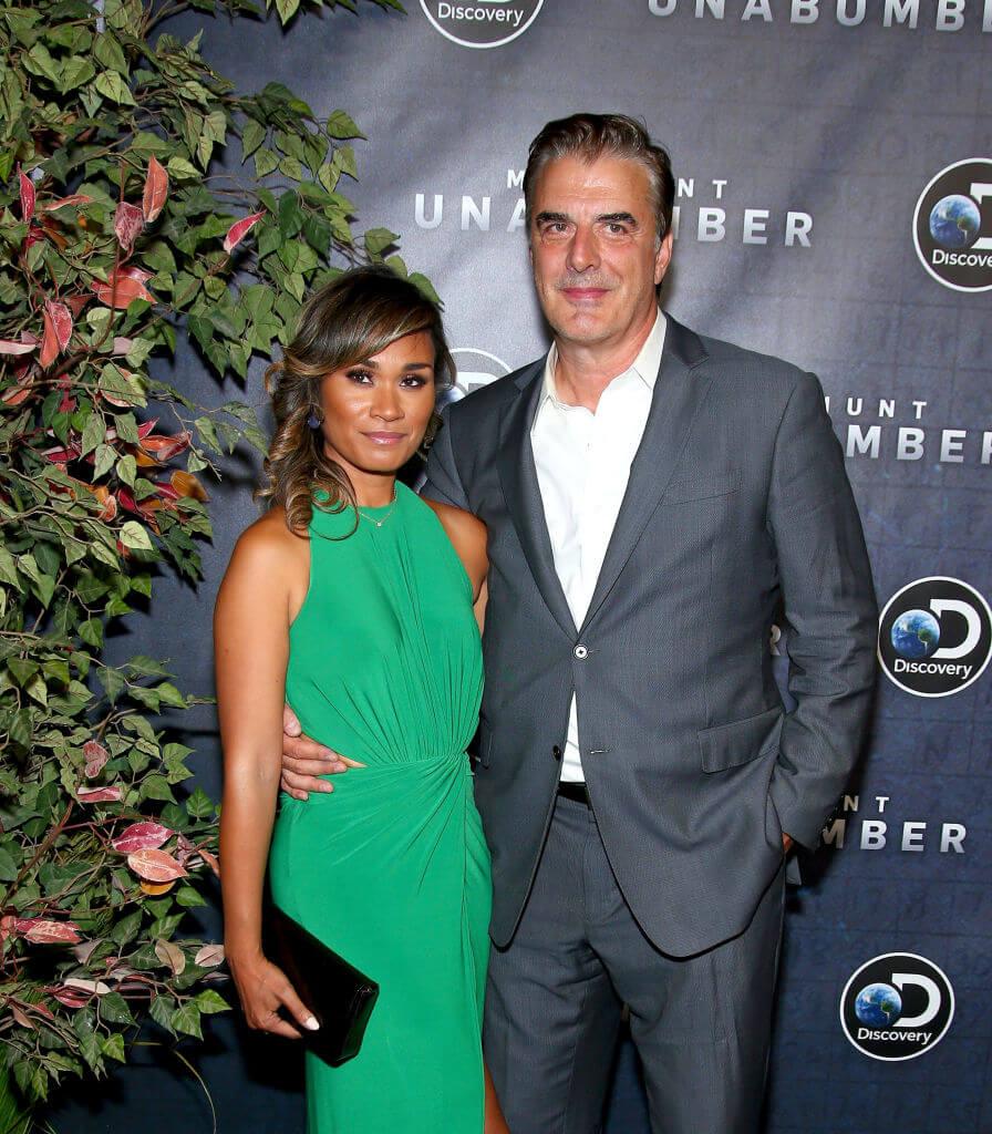 Кріс Нот з дружиною