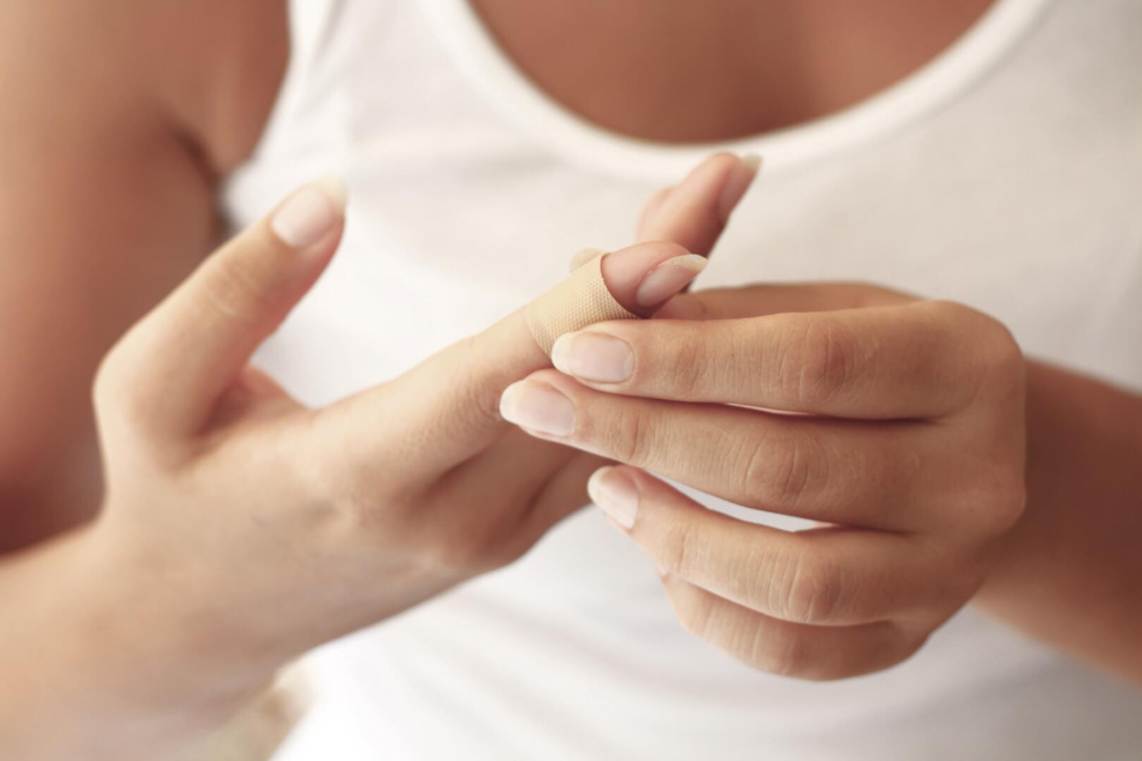 Перев'язування пальця