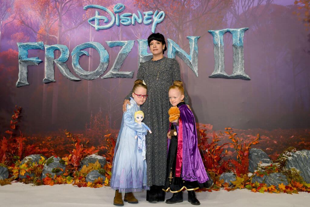Лілі Аллен з дітьми