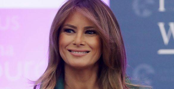 Зелена сукня Меланії Трамп розсмішила мережу. Фото