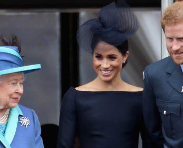 Королева та Меган і Гаррі