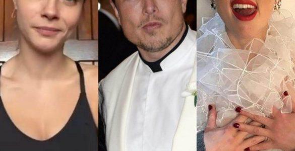 Ілона Маска підловили на сексі втрьох з відомими актрисами