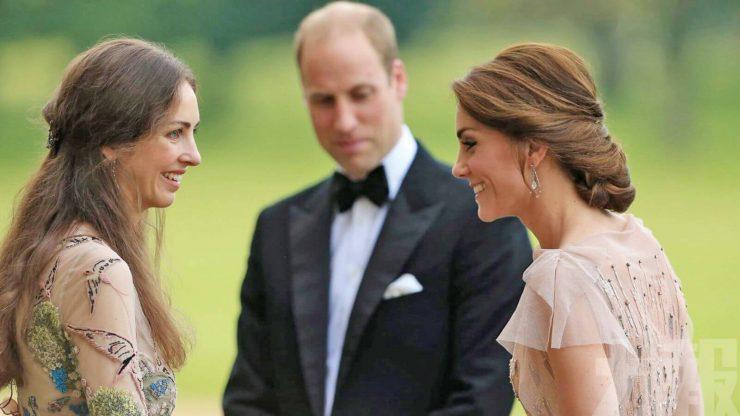 Роуз Ханбері, Кейт Міддлтон і принц Вільям