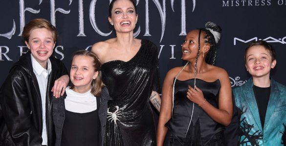Джолі сильно хвилюється через свою темношкіру доньку: що трапилося