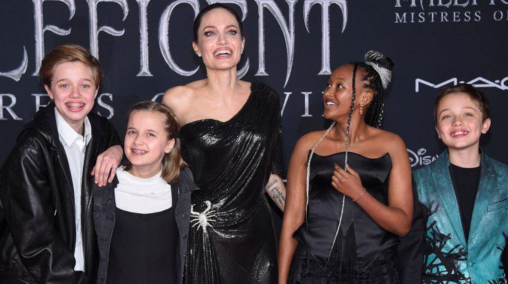 Анджеліна Джолі та її діти