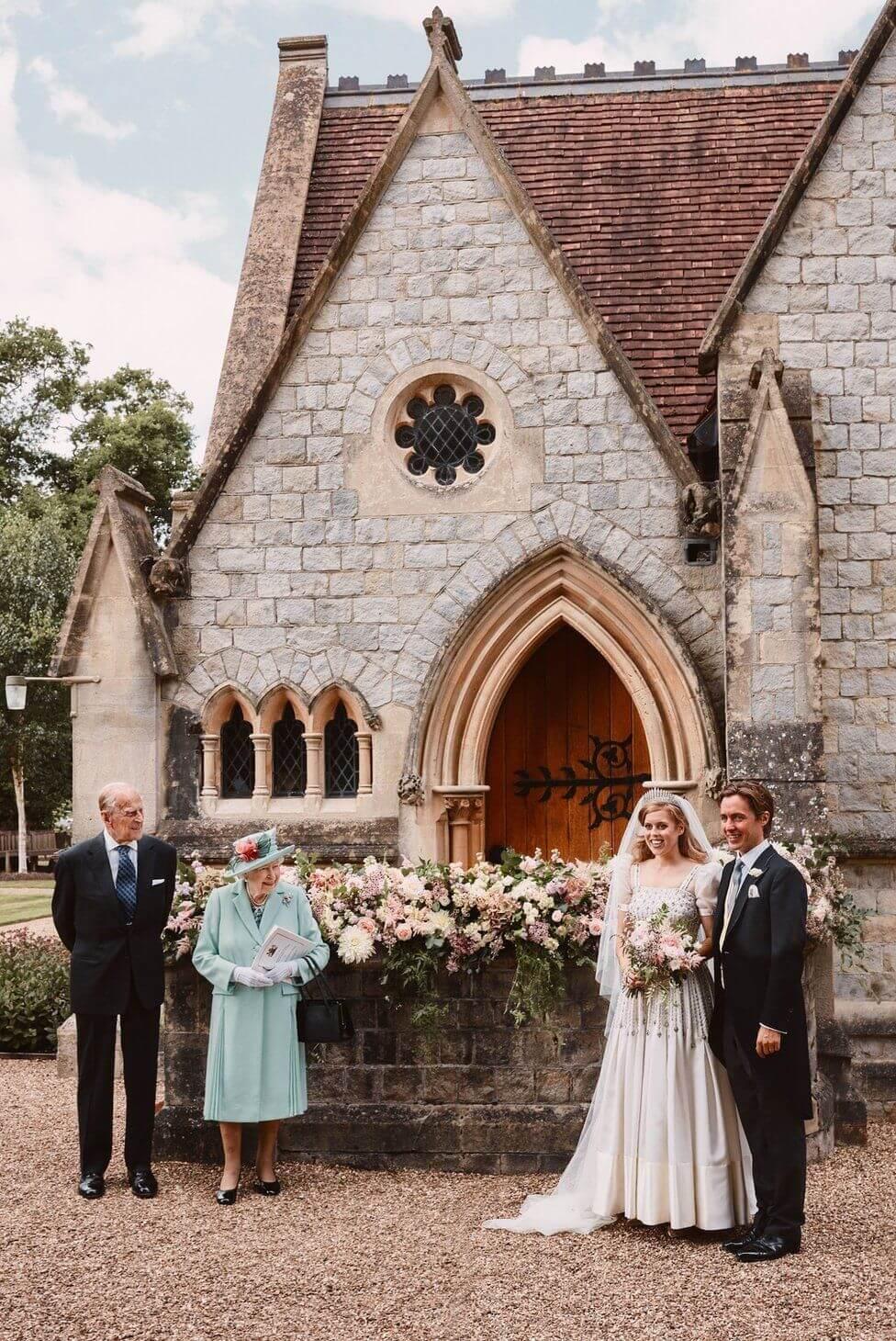 Принцеса Беатріс і мільярдера Едоардо мапелло-Моцці одружилися 17 липня.
