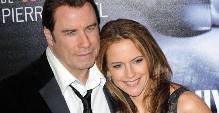 Джон Траволта з дружиною
