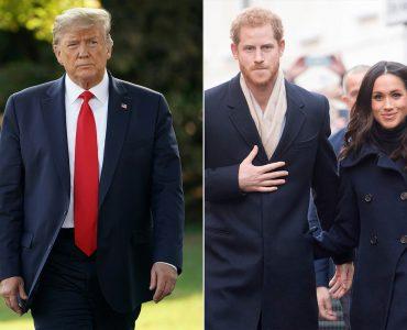 Дональд Трамп і Меган Маркл