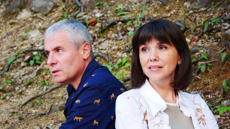 Костянтин Грубич разом із дружиною Світланою