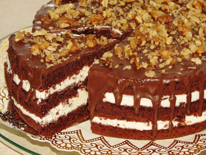 Рецепти десертів: шоколадний торт