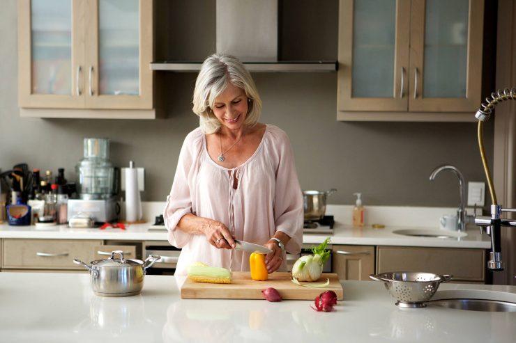 На кухні