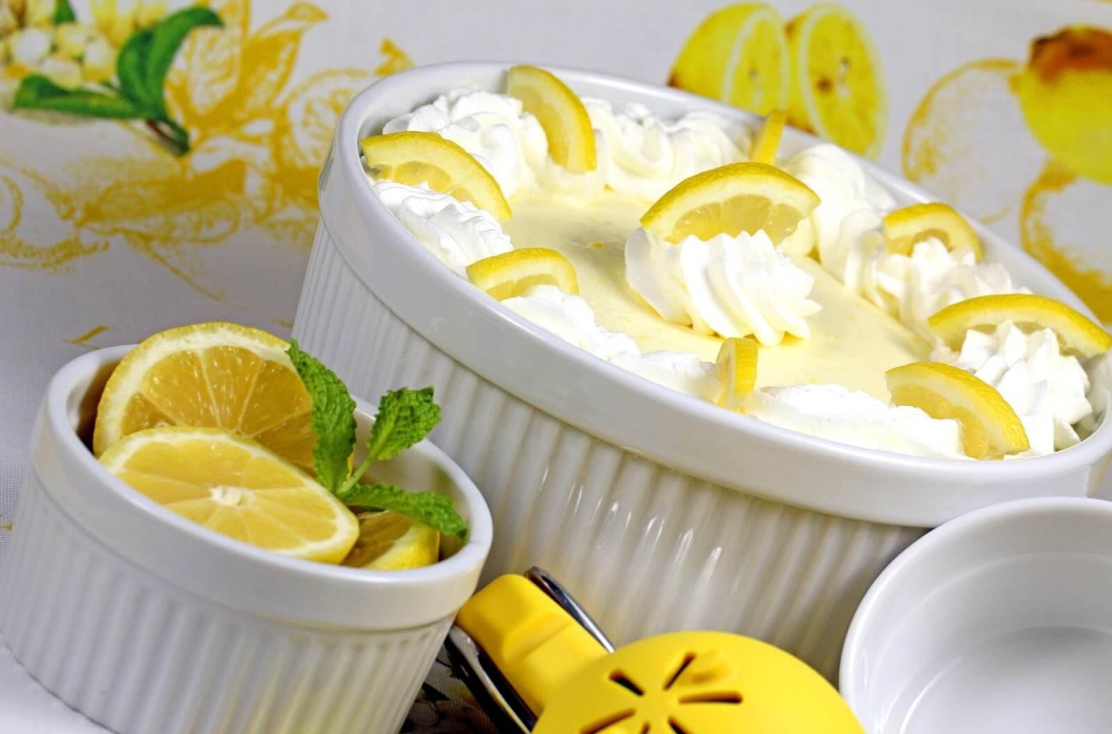 Лимонний мус