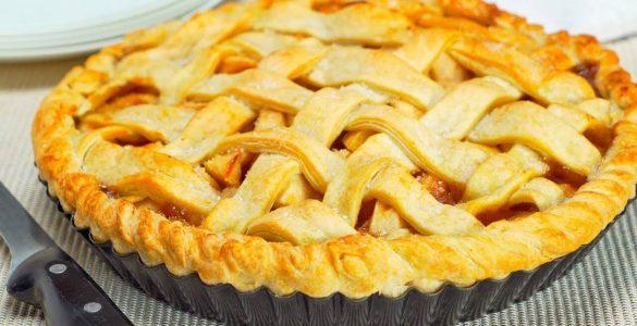 Яблучний пиріг: найлегший рецепт в світі!