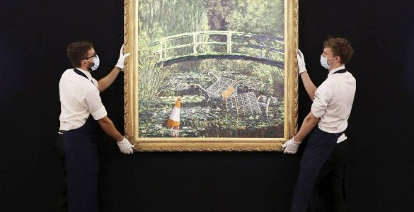 Картину Бенксі продали майже за $ 10 млн