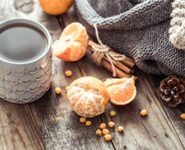 Чай з мандариновою шкіркою