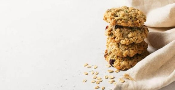 Неймовірно смачне вівсяне печиво без цукру і вершкового масла