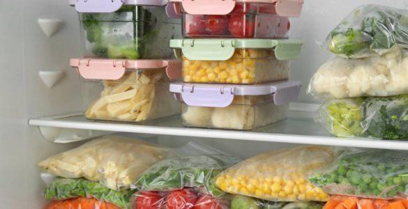 Названі овочі, які можна заморожувати вдома