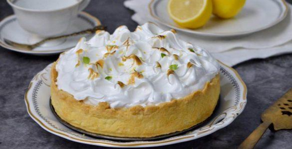 Домашній лимонний пиріг - ділимося рецептом!