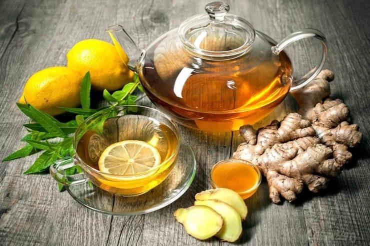 Чай з імбиром