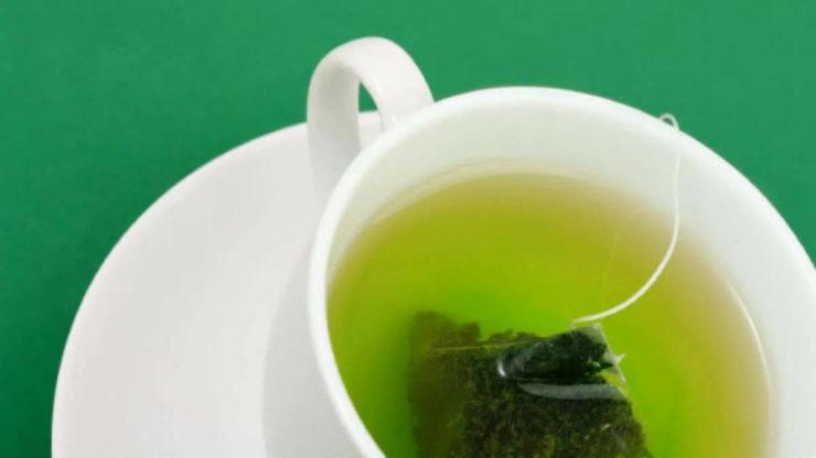Зелений чай в пакетиках
