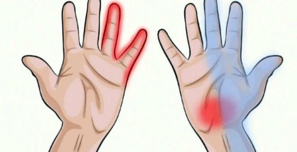 Оніміння пальців пов'язали з дефіцитом вітаміну B5