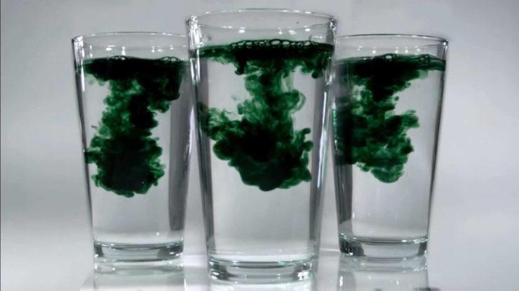 Вода з хлорофілом