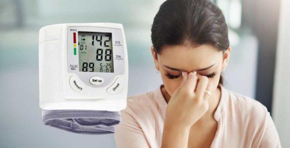 Названий небезпечний симптом високого кров'яного тиску