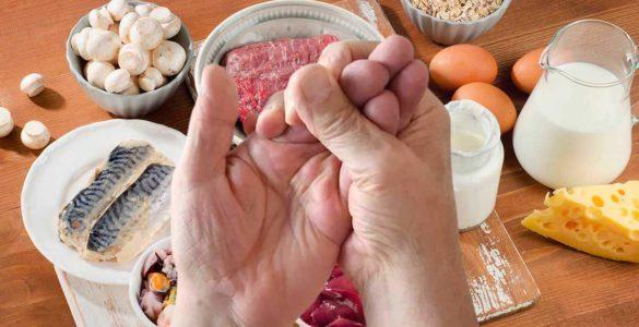 На дефіцит вітаміну B12 вкаже симптом на руках