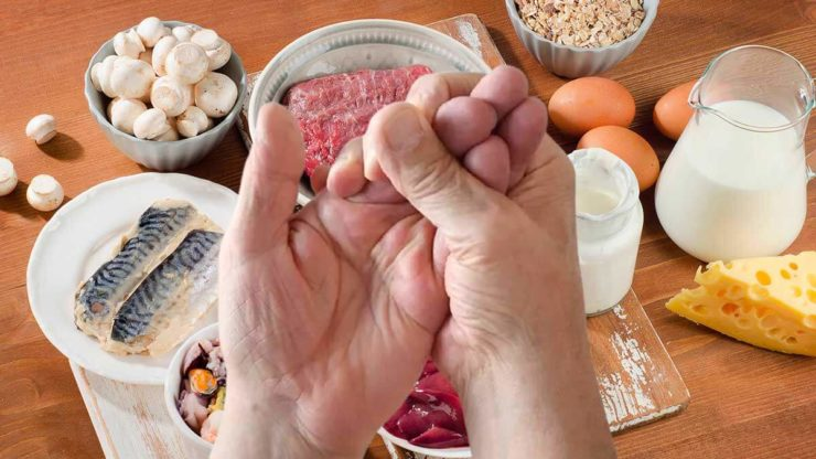 Руки і вітамін B12