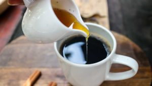 Кава з медом