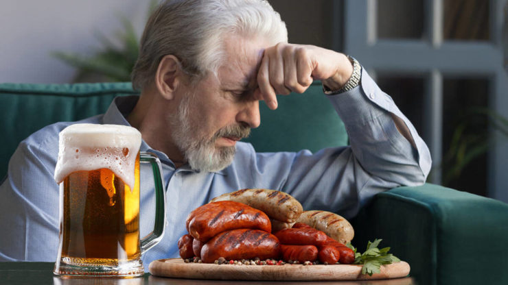 Сосиски та пиво