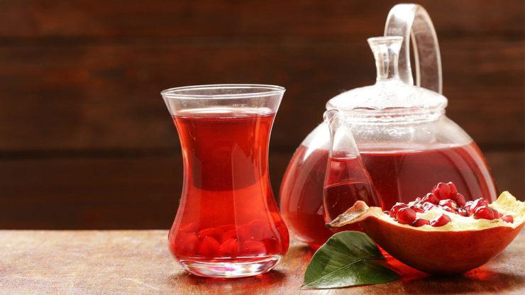 Гранатовий чай