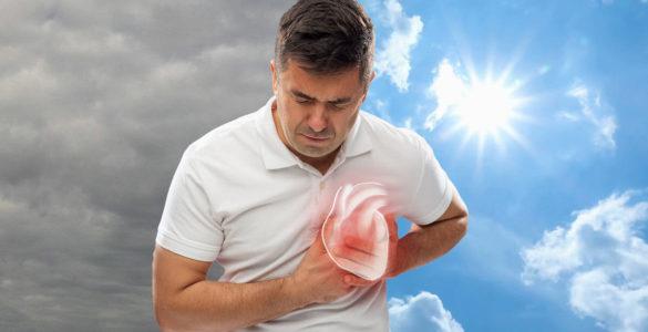 Про небезпеку різкого похолодання для здоров'я попередив кардіолог