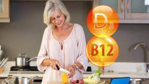 вітаміни B12 і D3