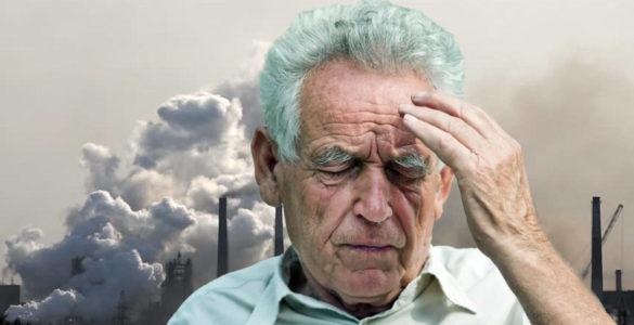 Забруднення повітря зв'язали з підвищеним ризиком розвитку деменції