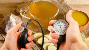 Чай з медом і часником