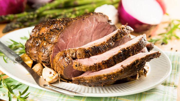 Запечене м'ясо